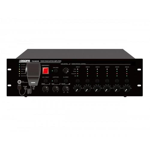 PAVA-6240, компактная система аварийного оповещения