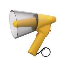 ER-1206W, Ручной мегафон cо свистком 10Вт max. защита IPX5*