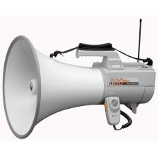 ER-2930W, Мегафон наплечный с UHF тюнером, свистком и выносным микрофоном 30/45 Вт